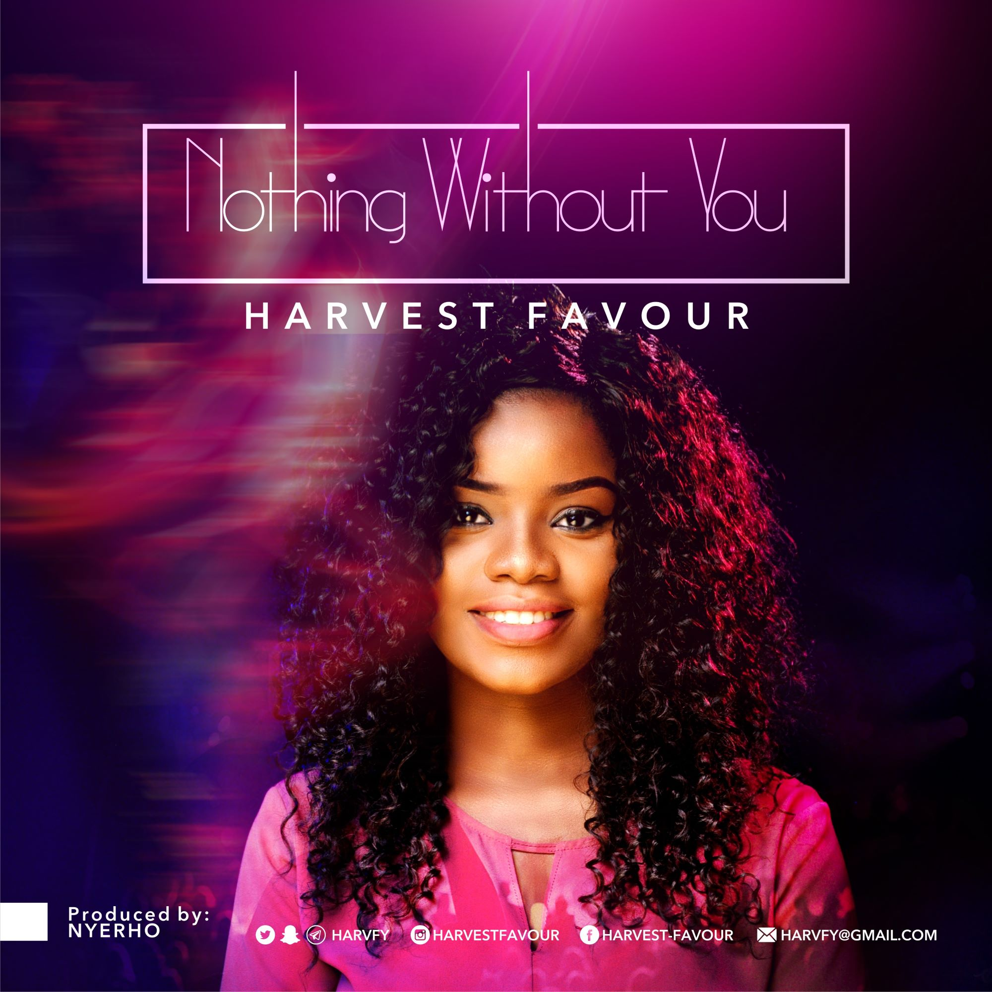 Harvest Favour Nothing Without You