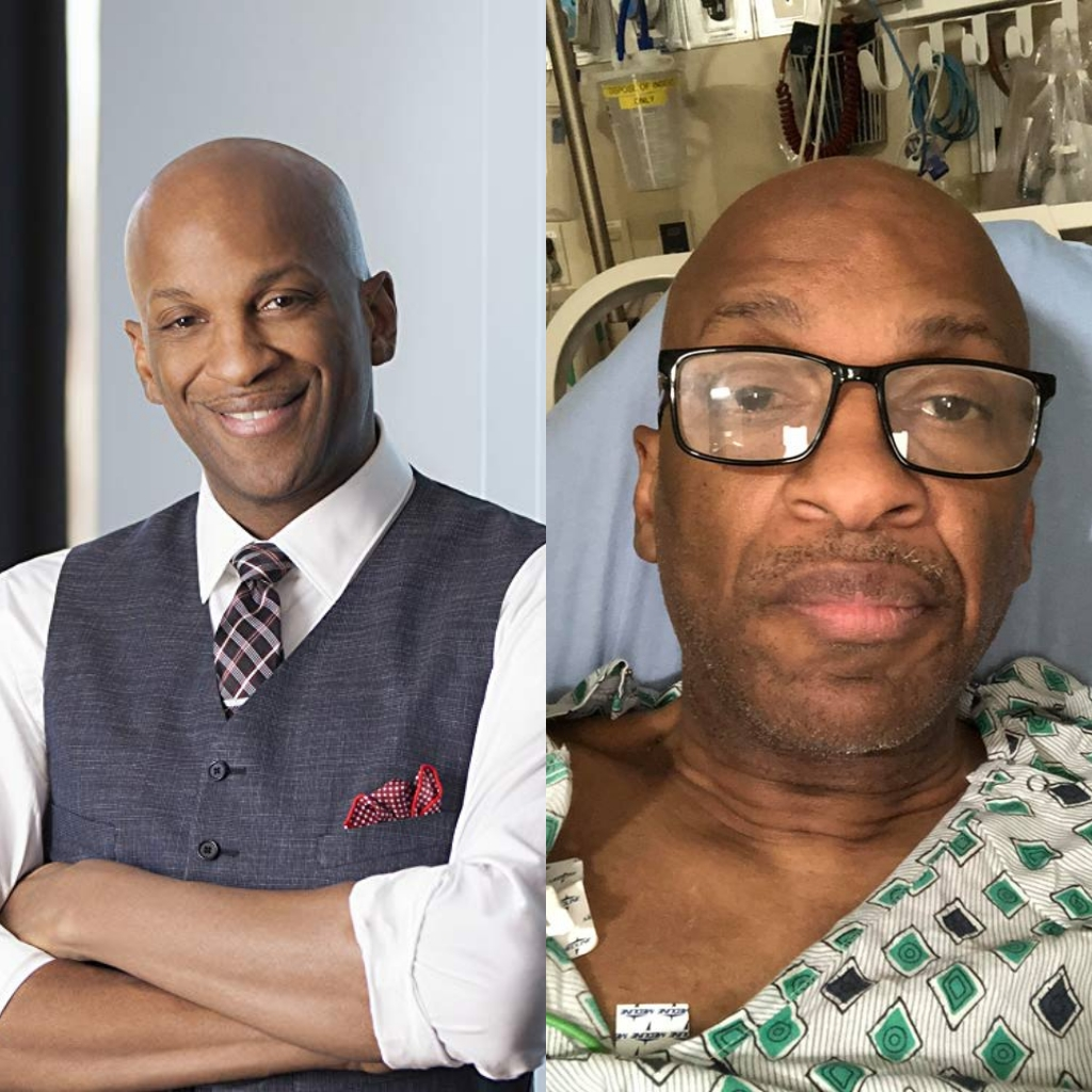 Donnie McClurkin Accident