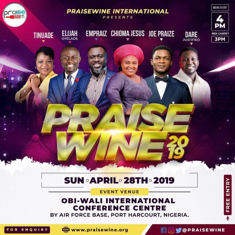 PraiseWine Concert 2019