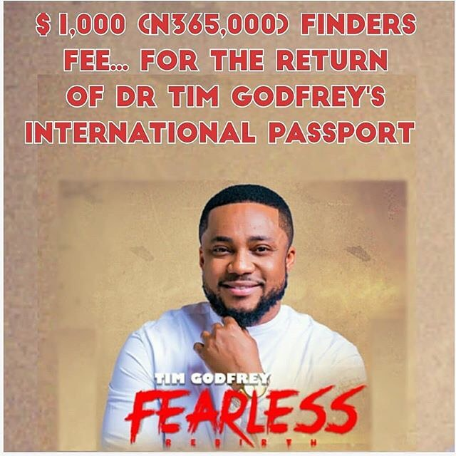 Tim Godfrey Robbed