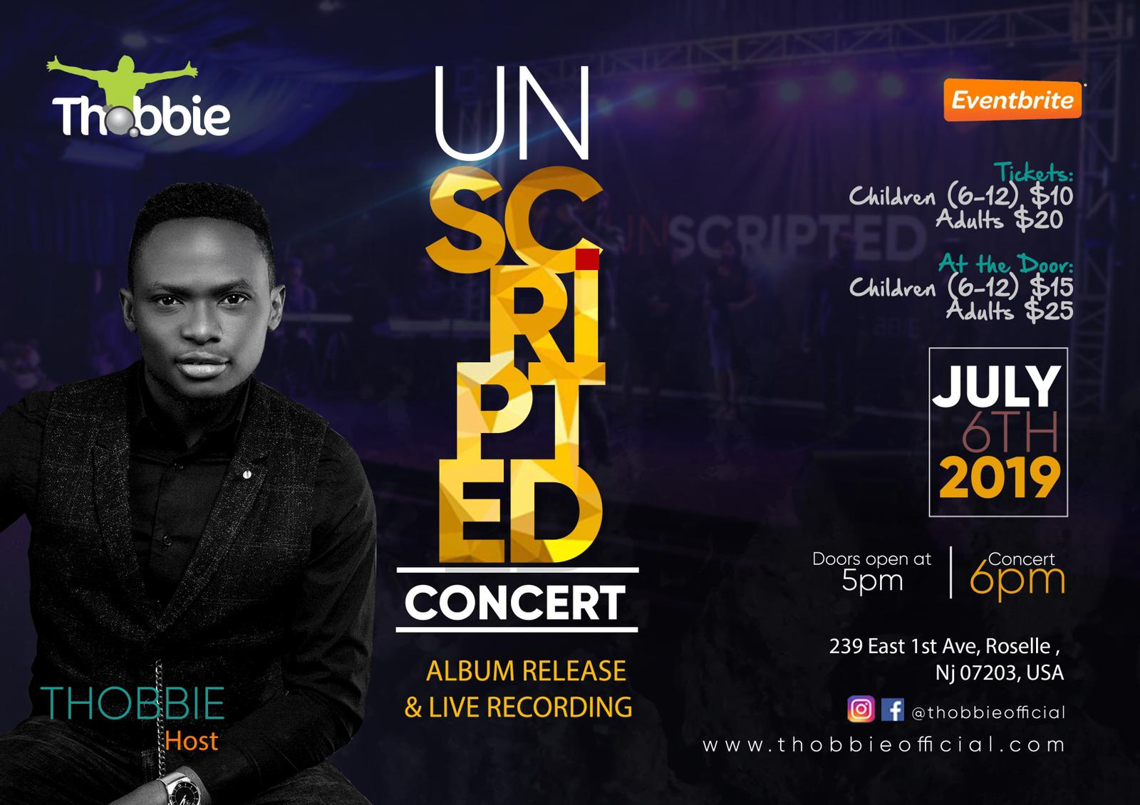 THOBBIE UNSCRIPTED 2019