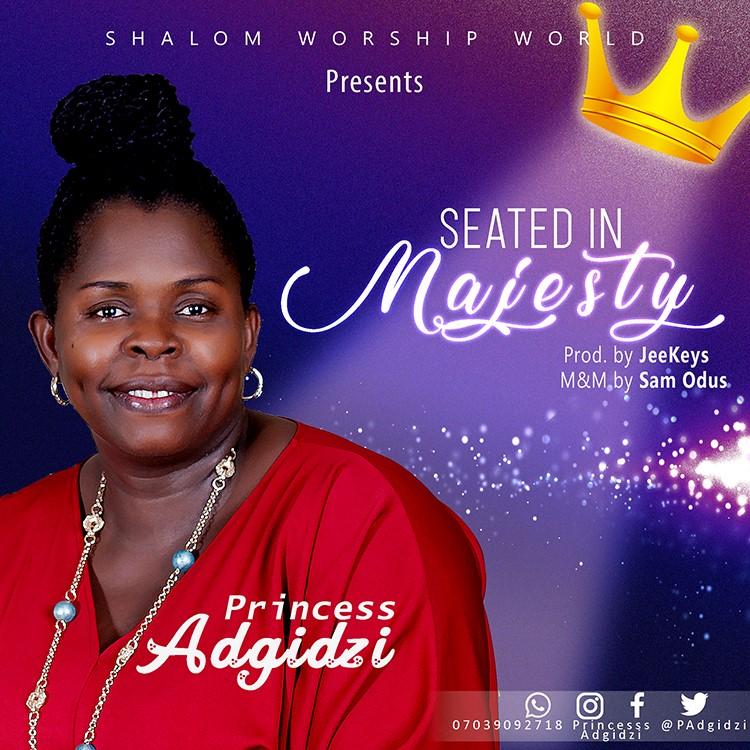 Princess Adgidzi Seated In Majesty