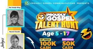 Proudly Gospel TalentHunt 2020
