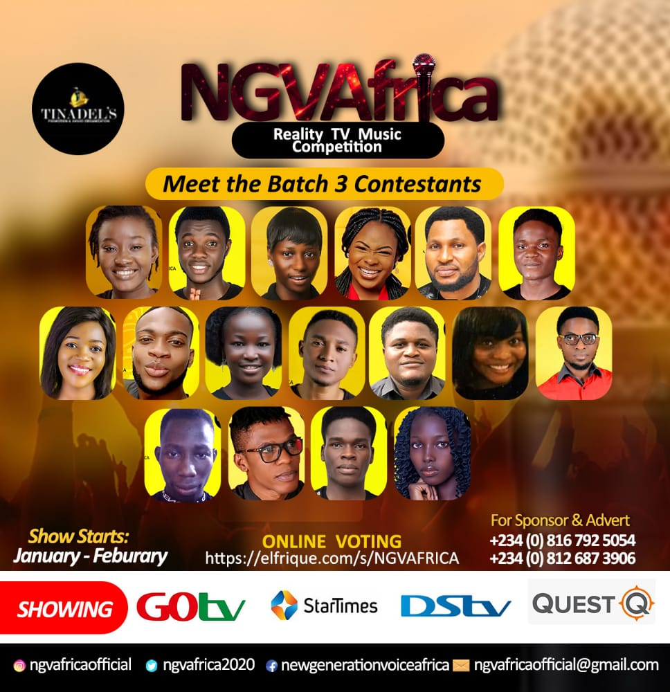 NGVAFRICA Gospel Reality Show