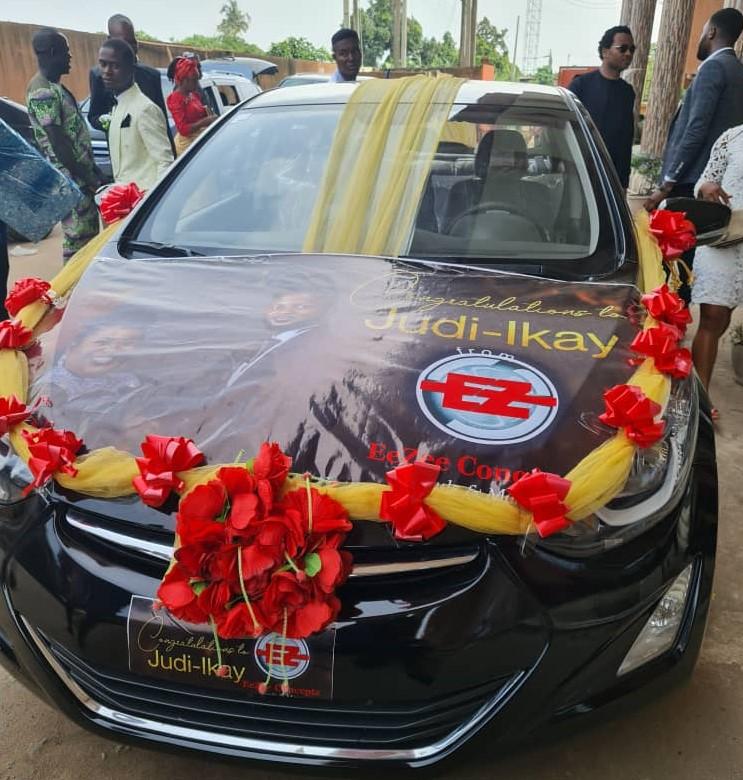 EezeeTee Gift Judikay A New Car