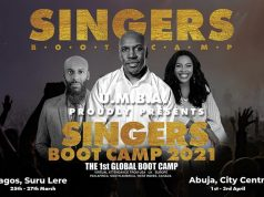 The Ultimate Singers Boot Camp 2021