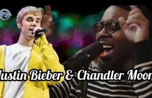 Justin Bieber and Chandler Moore Worship Session
